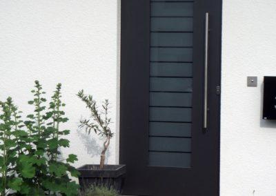 Haustür Einfamilienhaus - Worms 2014
