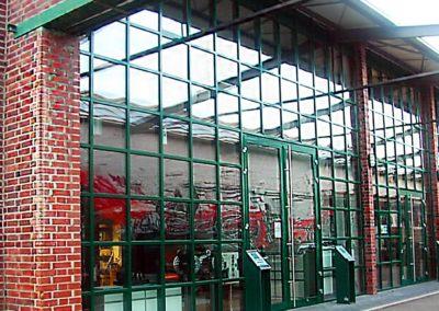 Bares Für Rares, Pfosten-Riegel-Fassaden im Walzwerk Pulheim - seit 1995