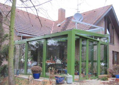 Trau Dich mal was! Wintergarten in RAL 6010 grasgrün – Wohnhaus in Großniedesheim - 2015