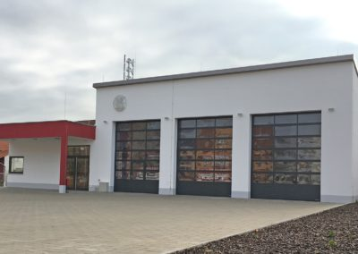 Feuerwehr Offstein - 2018 - Architekt: Matthias Braun